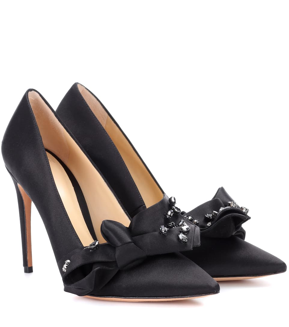 Alexandre Birman Pumps Gaya From Satin