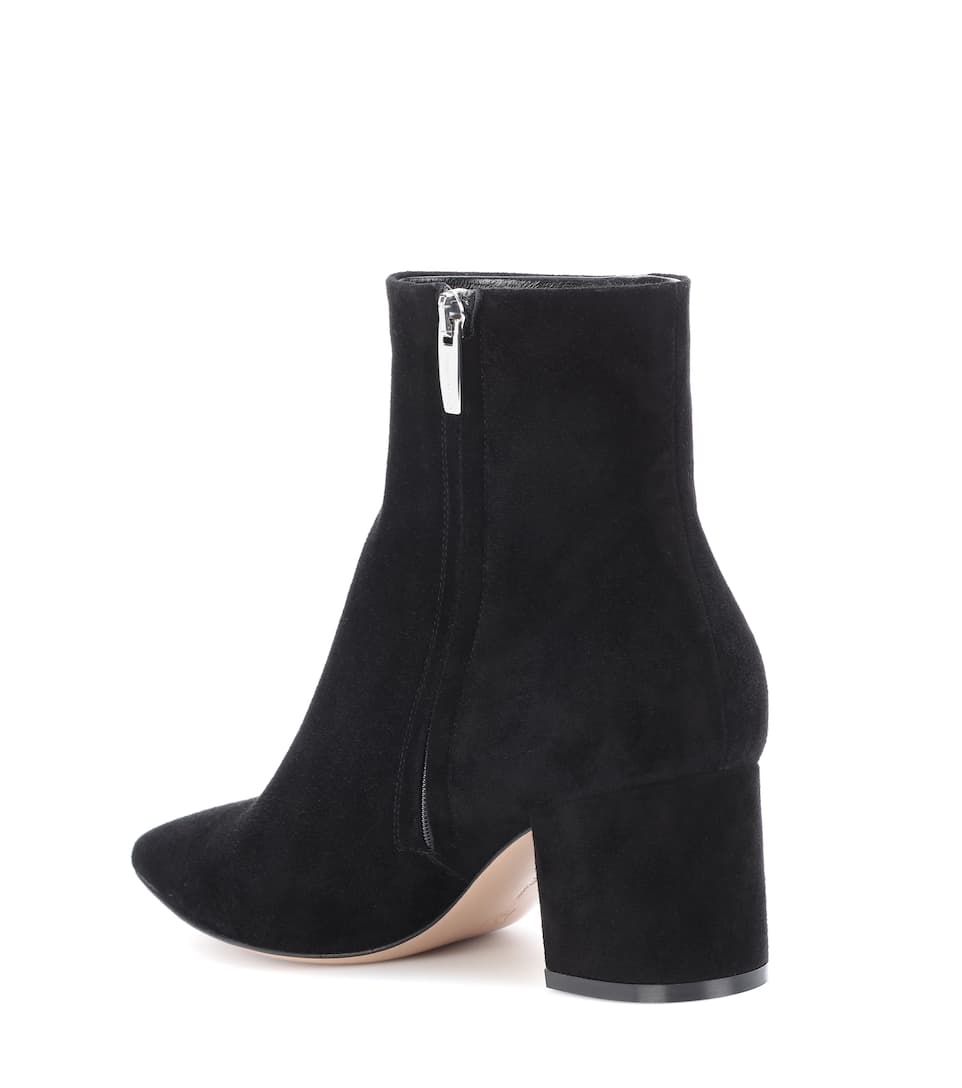 100% Original Günstig Online Gianvito Rossi Ankle Boots Piper 60 aus Veloursleder Verkauf Original 3tt7vhsyGM