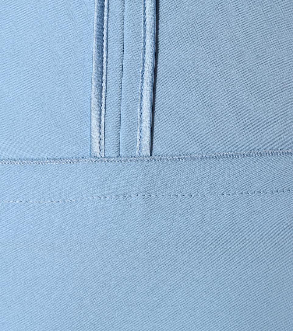 Versace Midi Robe En Crêpe