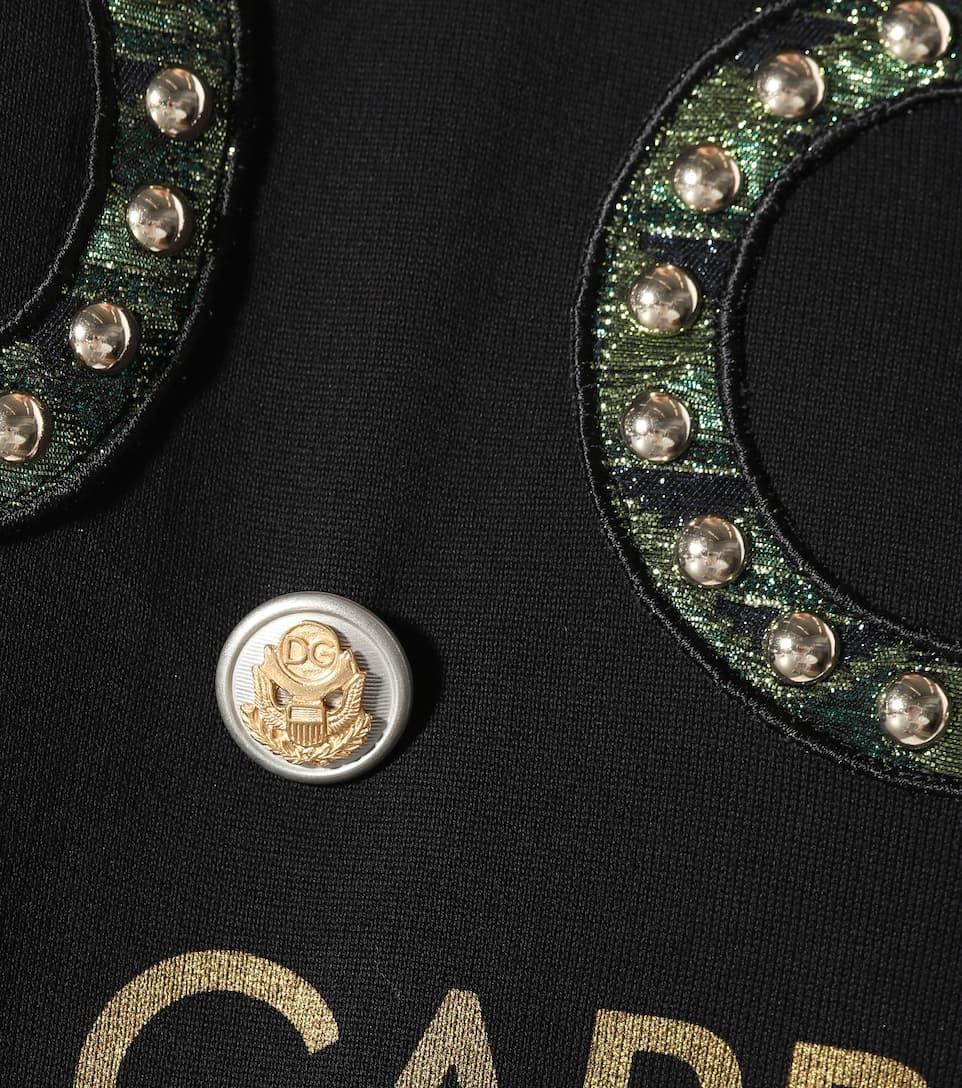 Dolce & Gabbana Verzierter Pullover aus Baumwolle