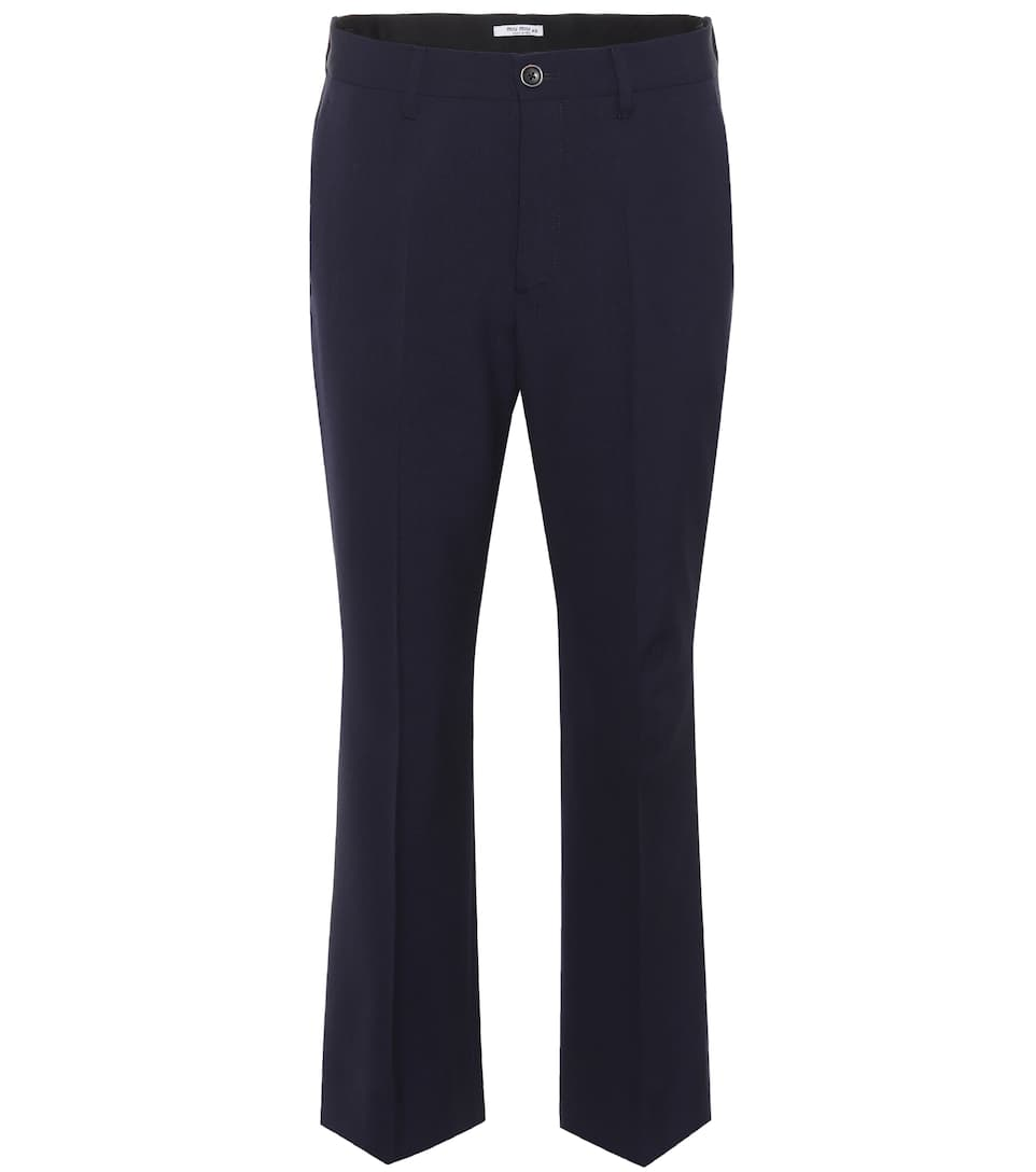Miu Miu Hose aus Stretch-Wolle