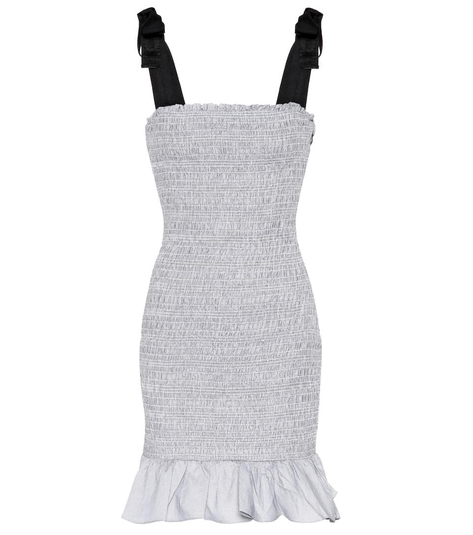 Rebecca Vallance - Robe courte en coton Luella