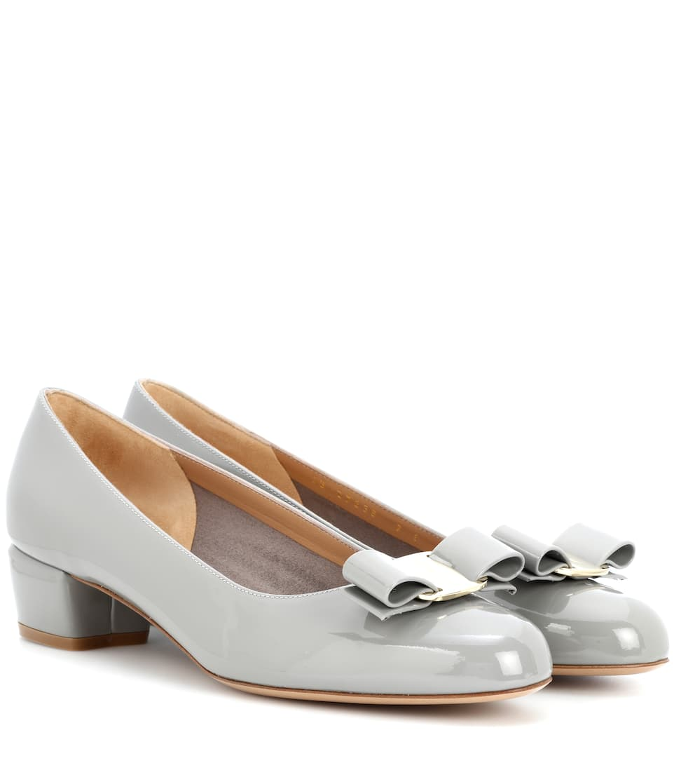 Vara Patent Leather Pumps  5e6dac853fa2e