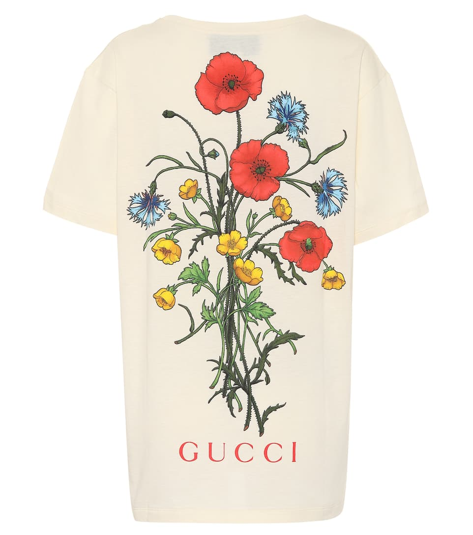 d0a3d9c77 Gucci - Chateau Marmont cotton T-shirt | Mytheresa