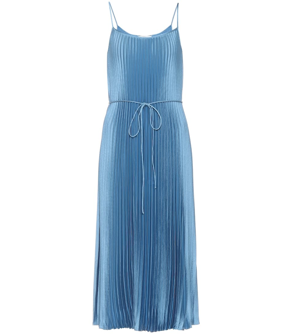 e1e825a7555a Pleated Slip Dress - Vince | Mytheresa