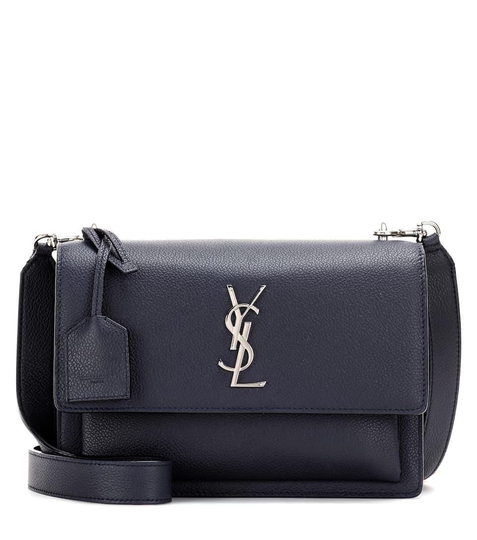 8ed56b781c03 Saint Laurent - Medium Sunset Monogram leather shoulder bag