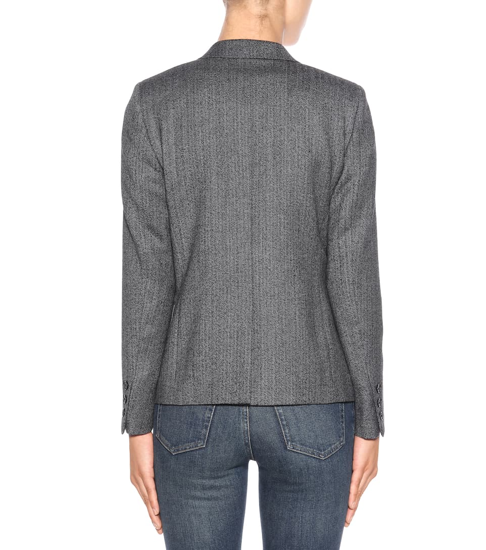 Saint Laurent Blazer aus Wolle