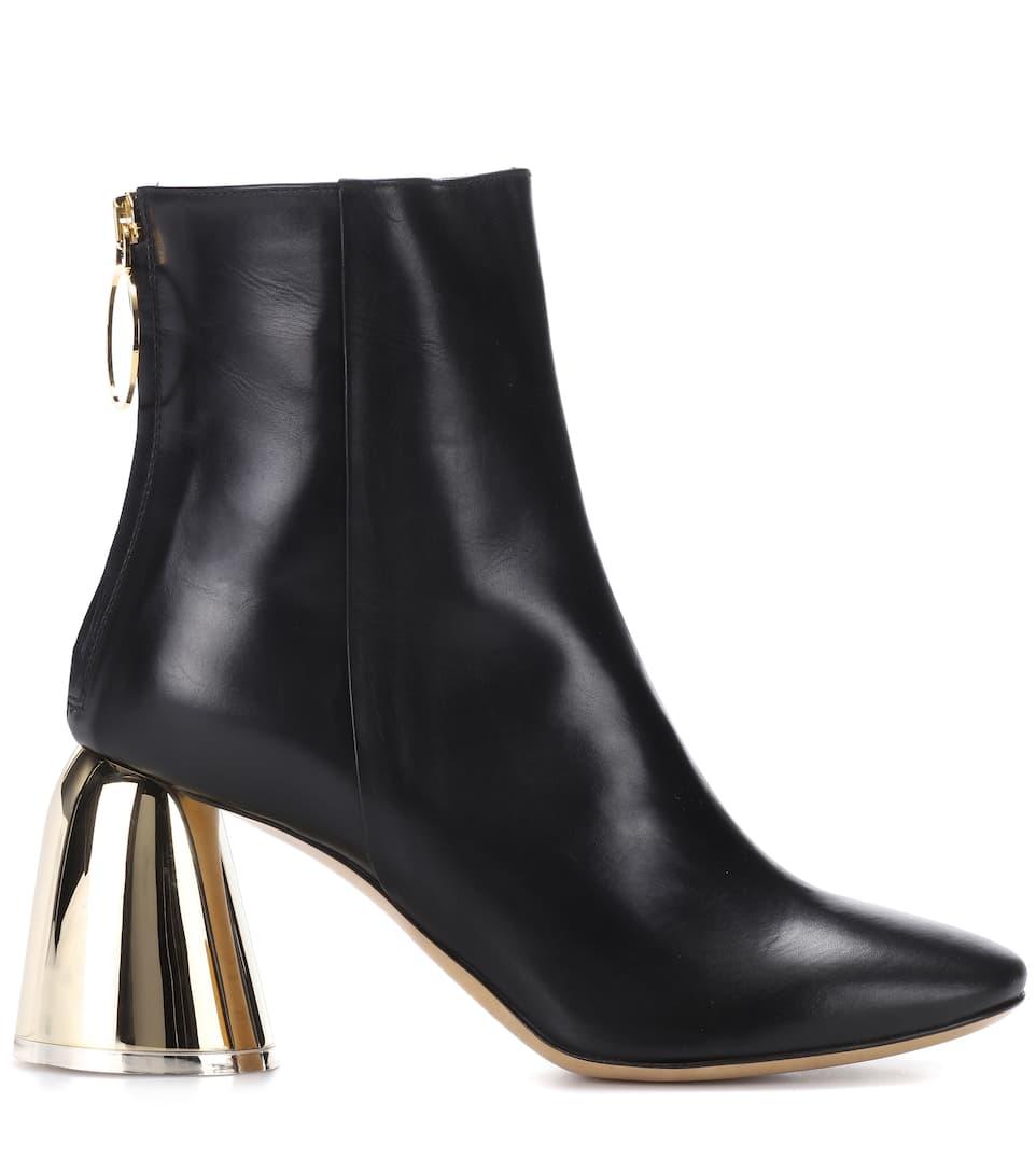 Zuverlässig Zu Verkaufen Ellery Ankle Boots aus Leder Niedriger Preis bEwJ9od