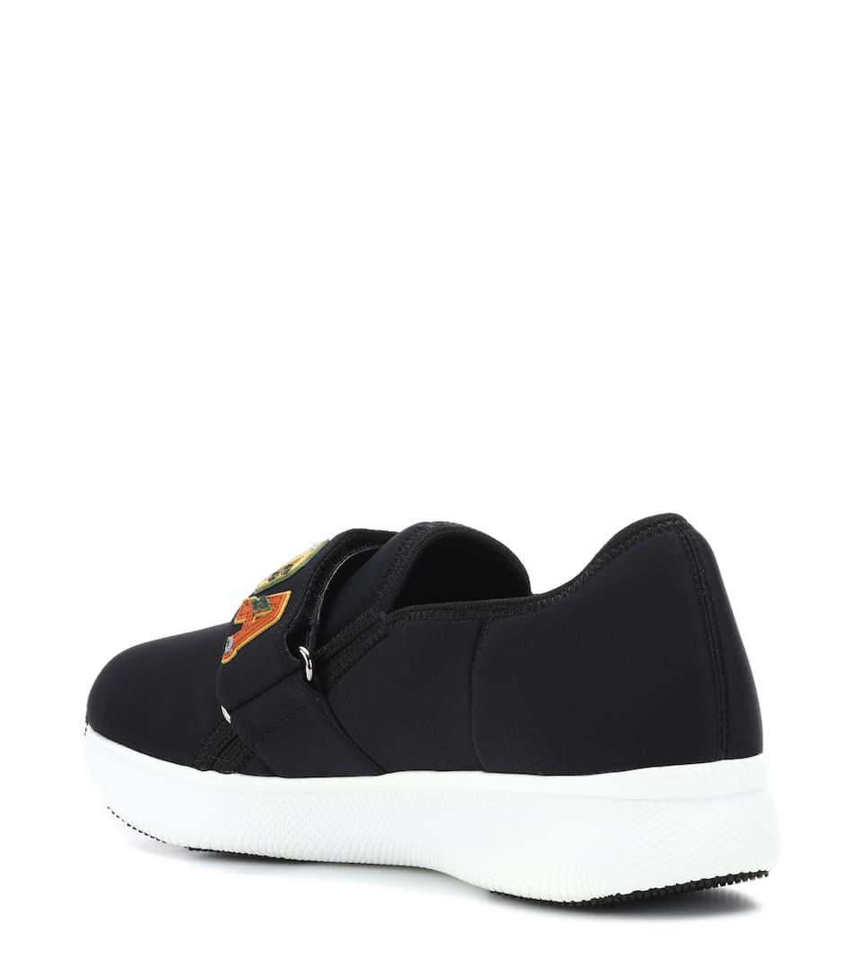 Prada Sneakers Flowered Move