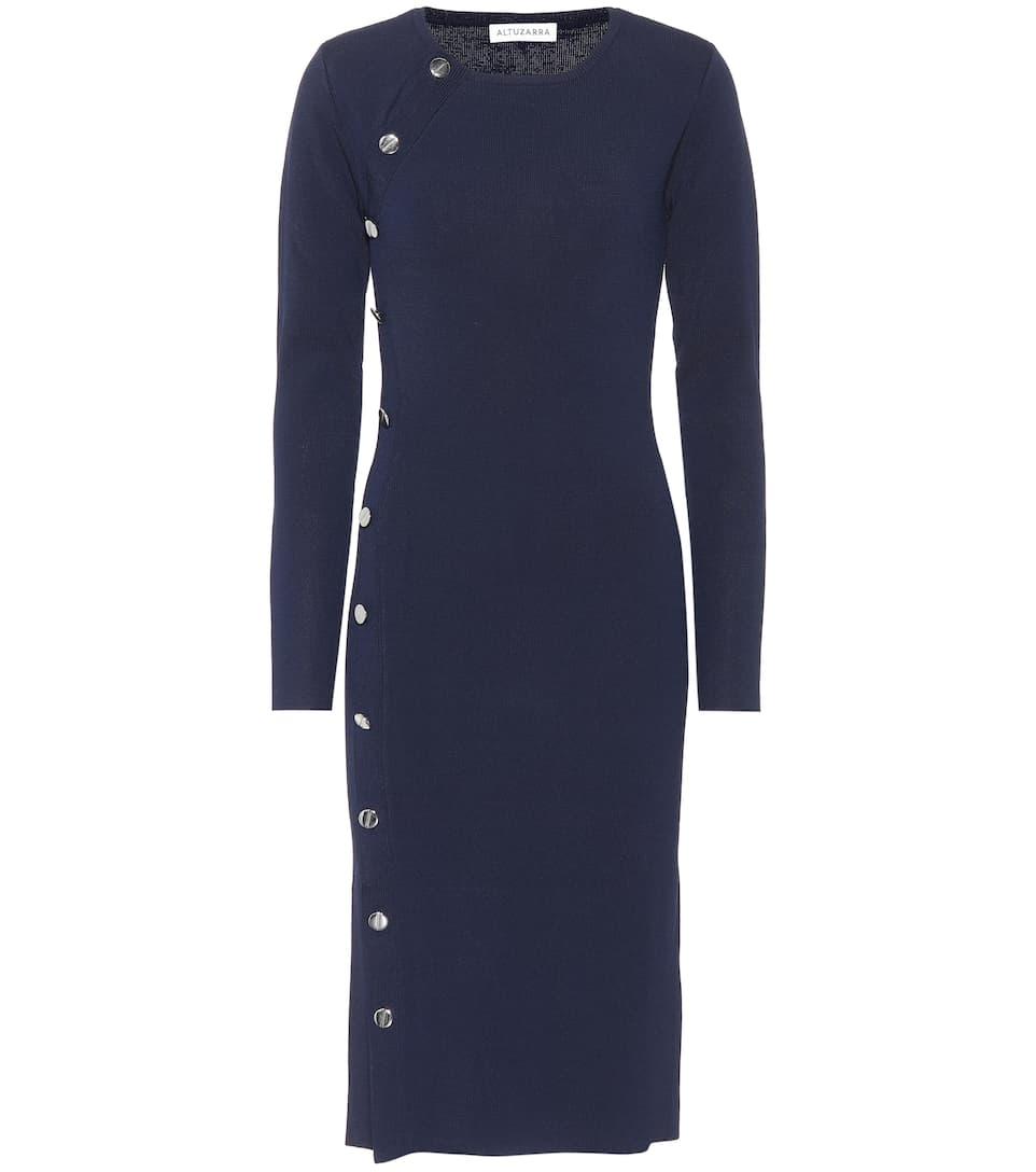 Altuzarra Dress With Button Tape