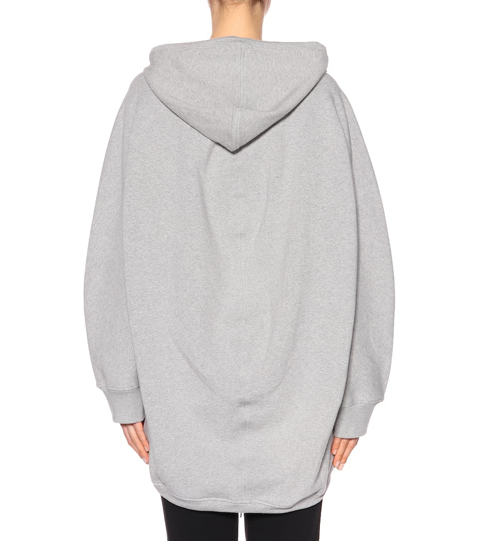 Sweat À Capuche Balenciaga En Coton Stretch