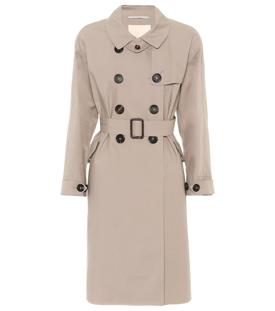 AOSTA COTTON TRENCH COAT