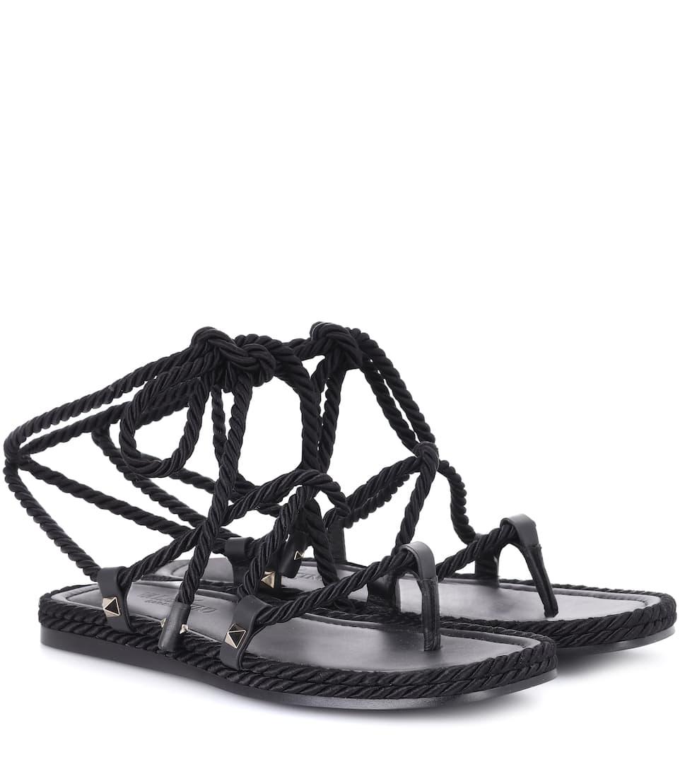 Valentino Garavani Torchon sandals Cheap Shop Offer Cheap Sale High Quality fr17Ng