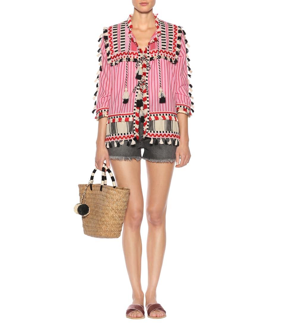 Dodo Bar Or Verzierte Jacke aus Baumwolle Billige Neue Stile Rabatte Online fk9nrvDKlE