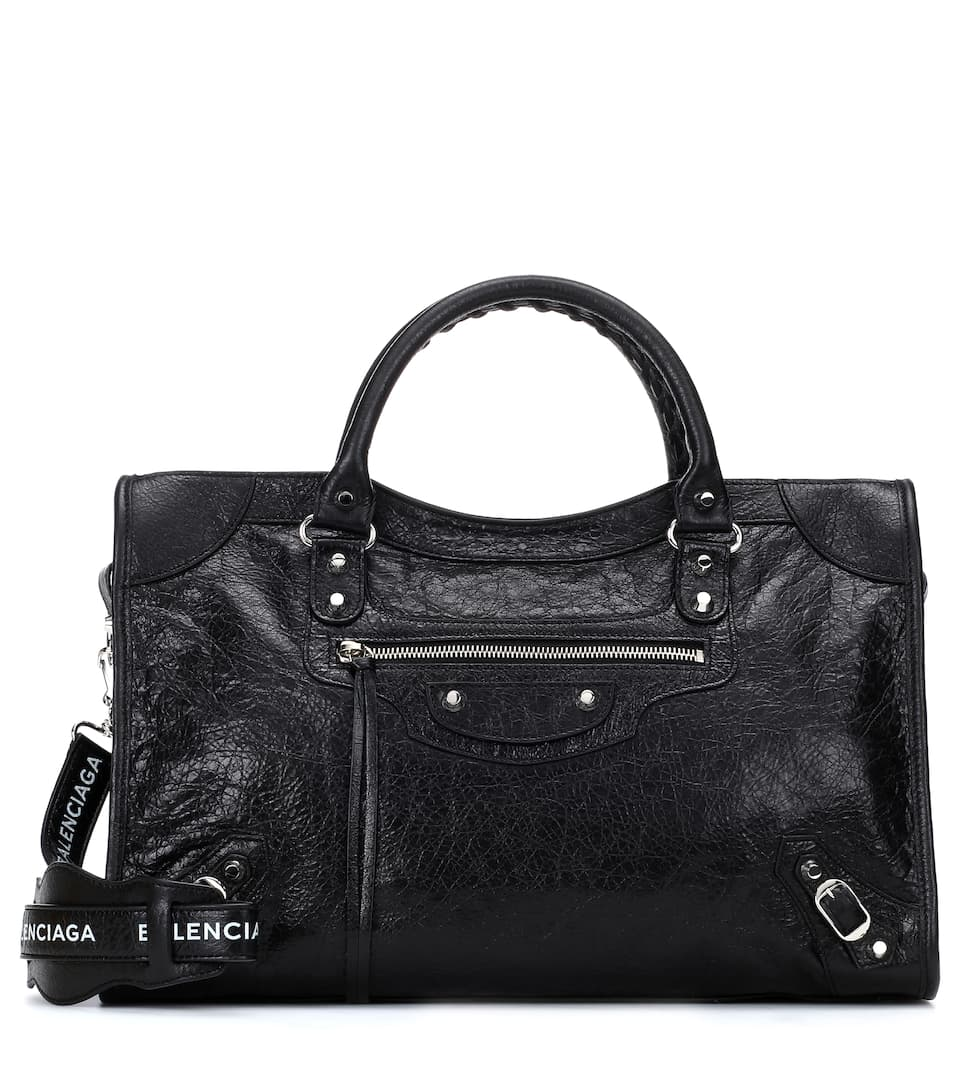 fbc6d1a1de Classic City Medium Leather Tote - Balenciaga