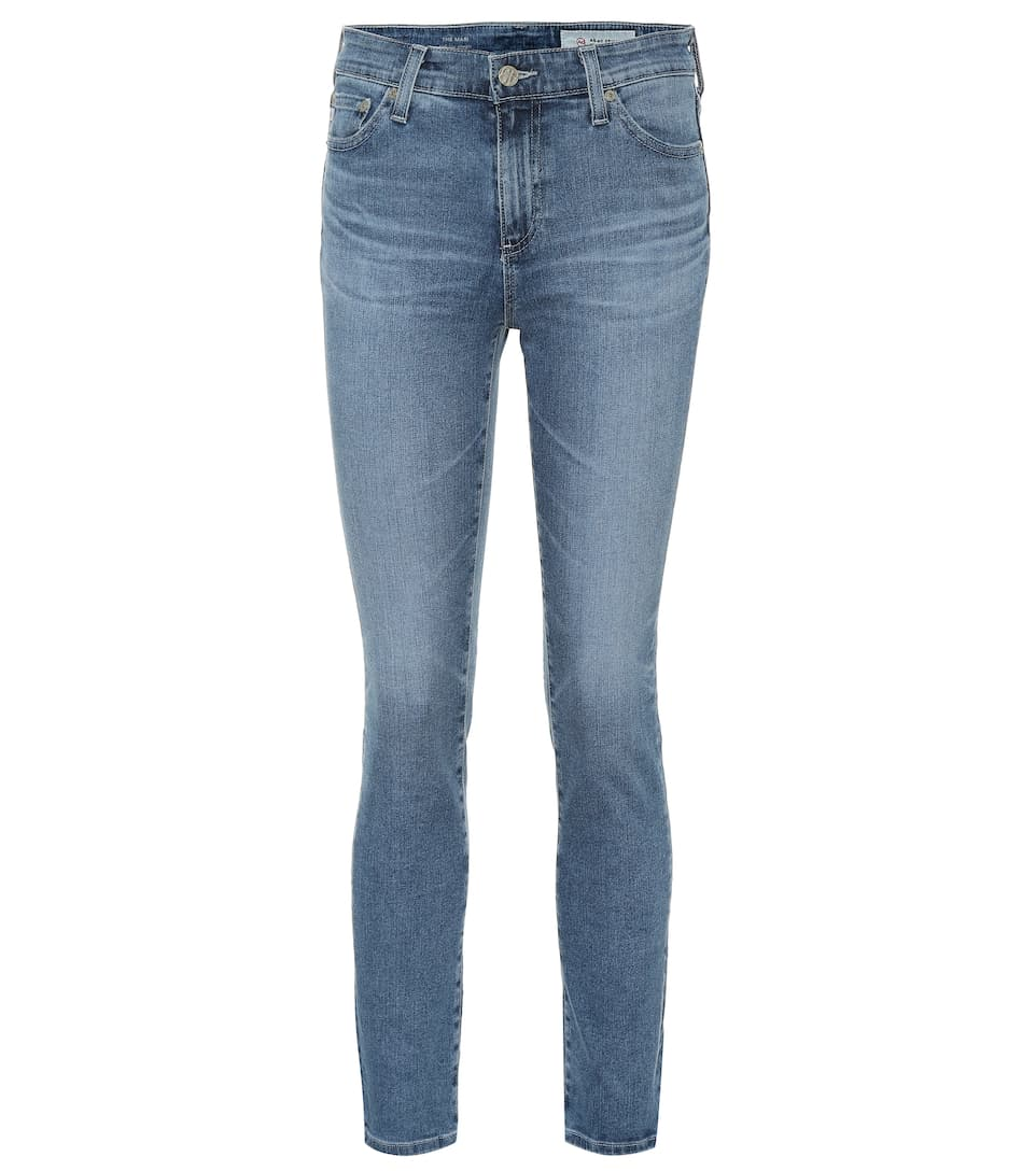 The Mari High Rise Straight Jeans by Ag Jeans