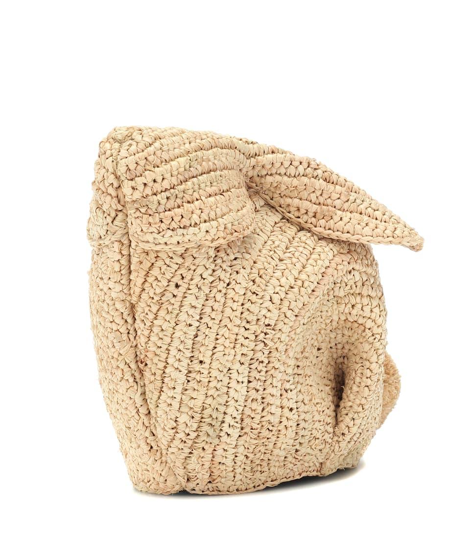 Loewe À En Sac Raphia Bandoulière Bunny 1JlKTFc