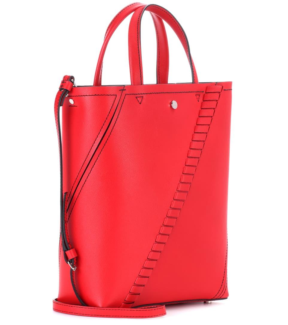 Proenza Schouler Bucket-Bag Mini Hex aus Leder