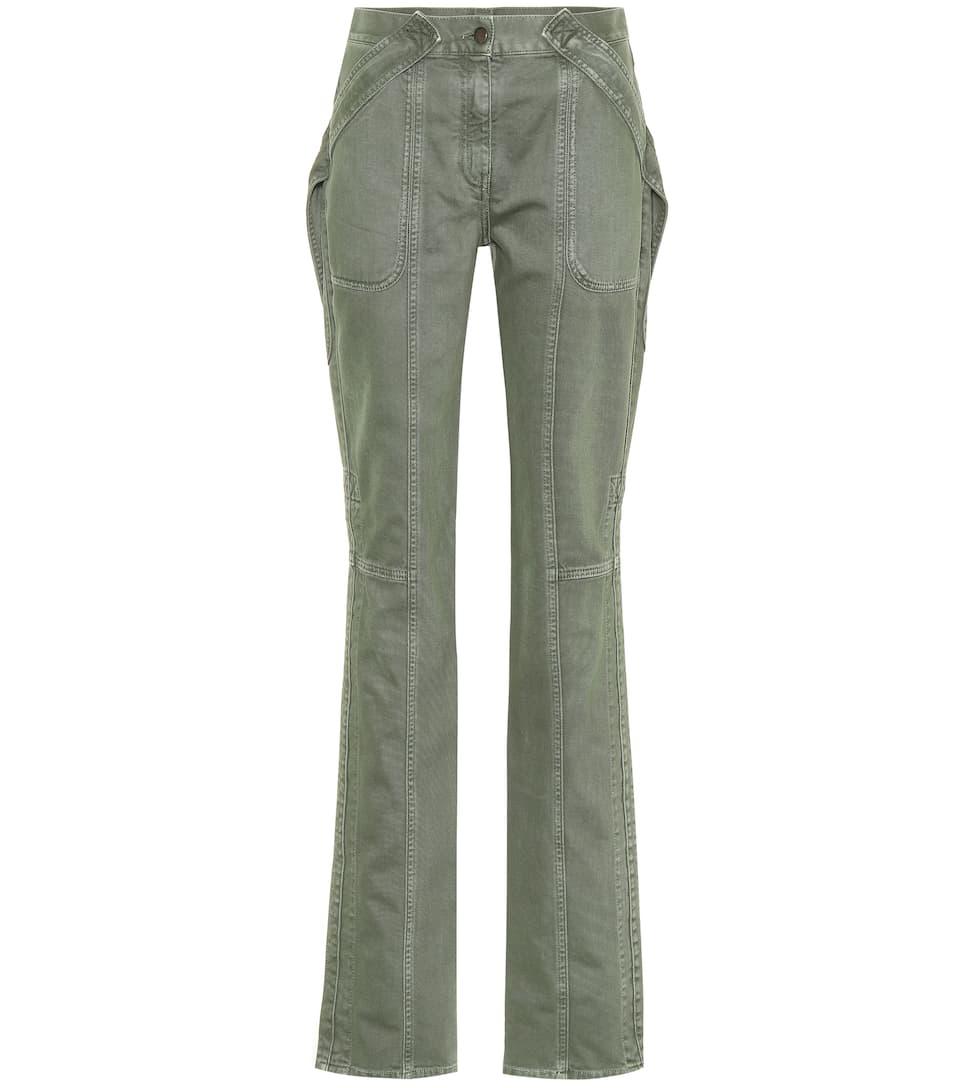 de cargo Militar Valentino Verde Pantalón algodón 5BdwnqnXA