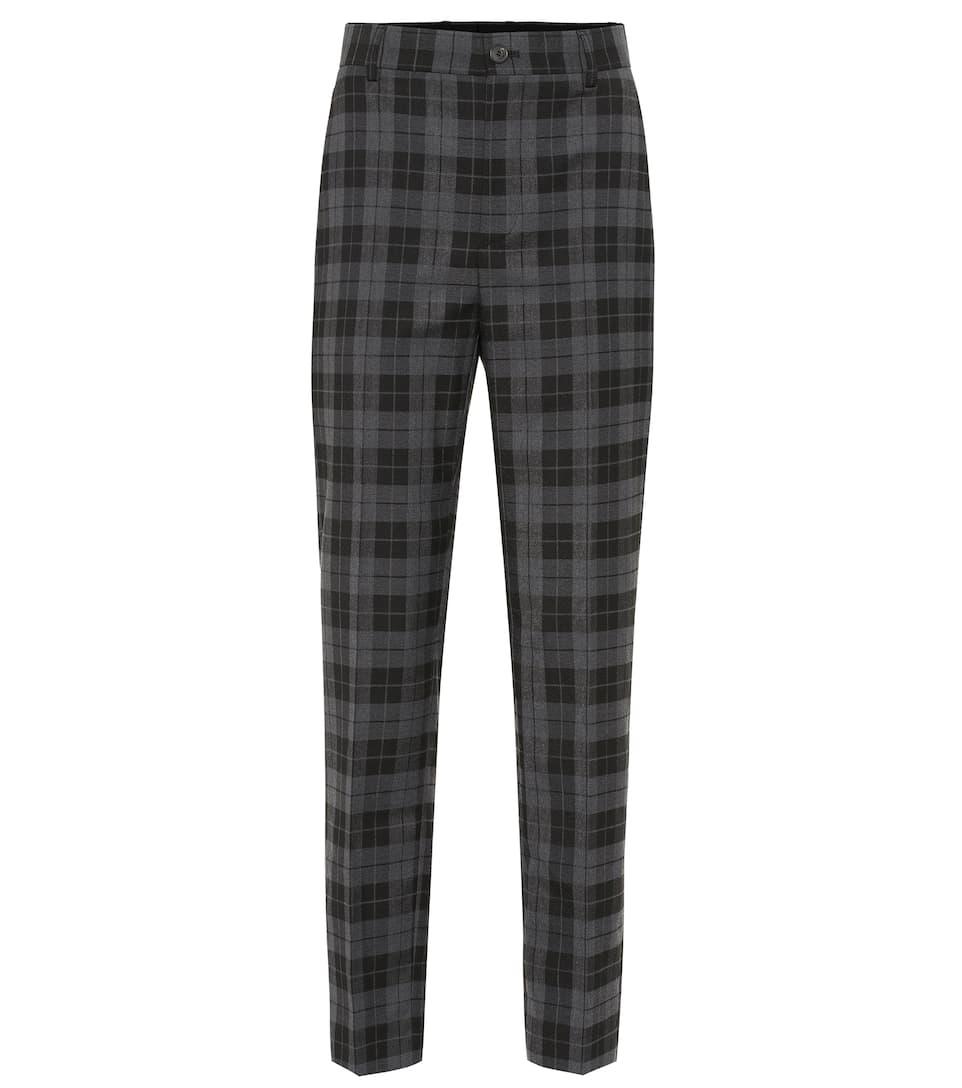 Mélangée BalenciagaN° Artnbsp;p00397720 Pantalon Laine Imprimé En CxrWdoBe