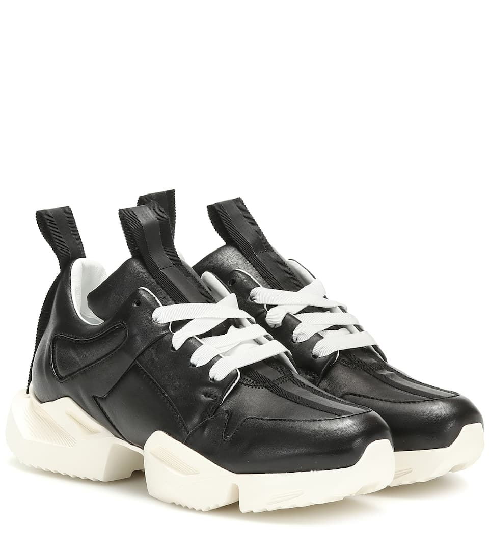Unravel - Leather sneakers | Mytheresa