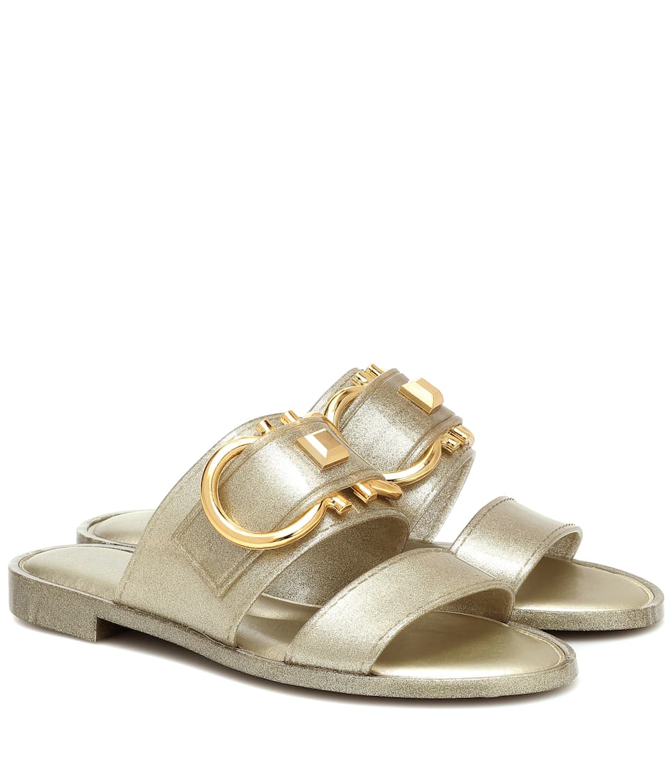 Taryn metallic sandals