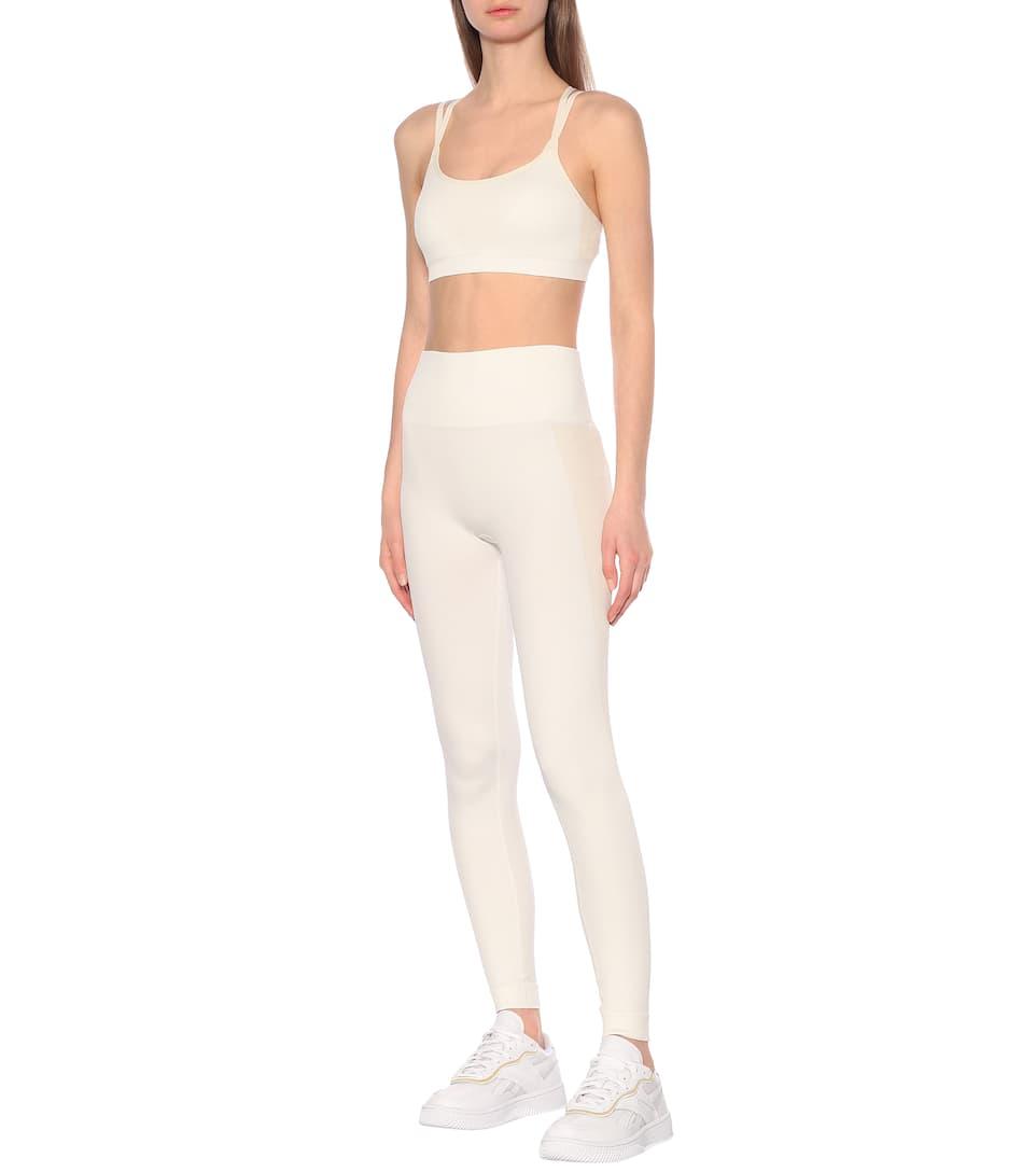 Reebok x Victoria Beckham - High-rise performance leggings
