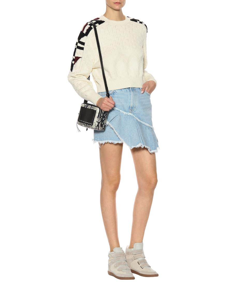 Isabel Marant Sneakers Bilsy aus Leder