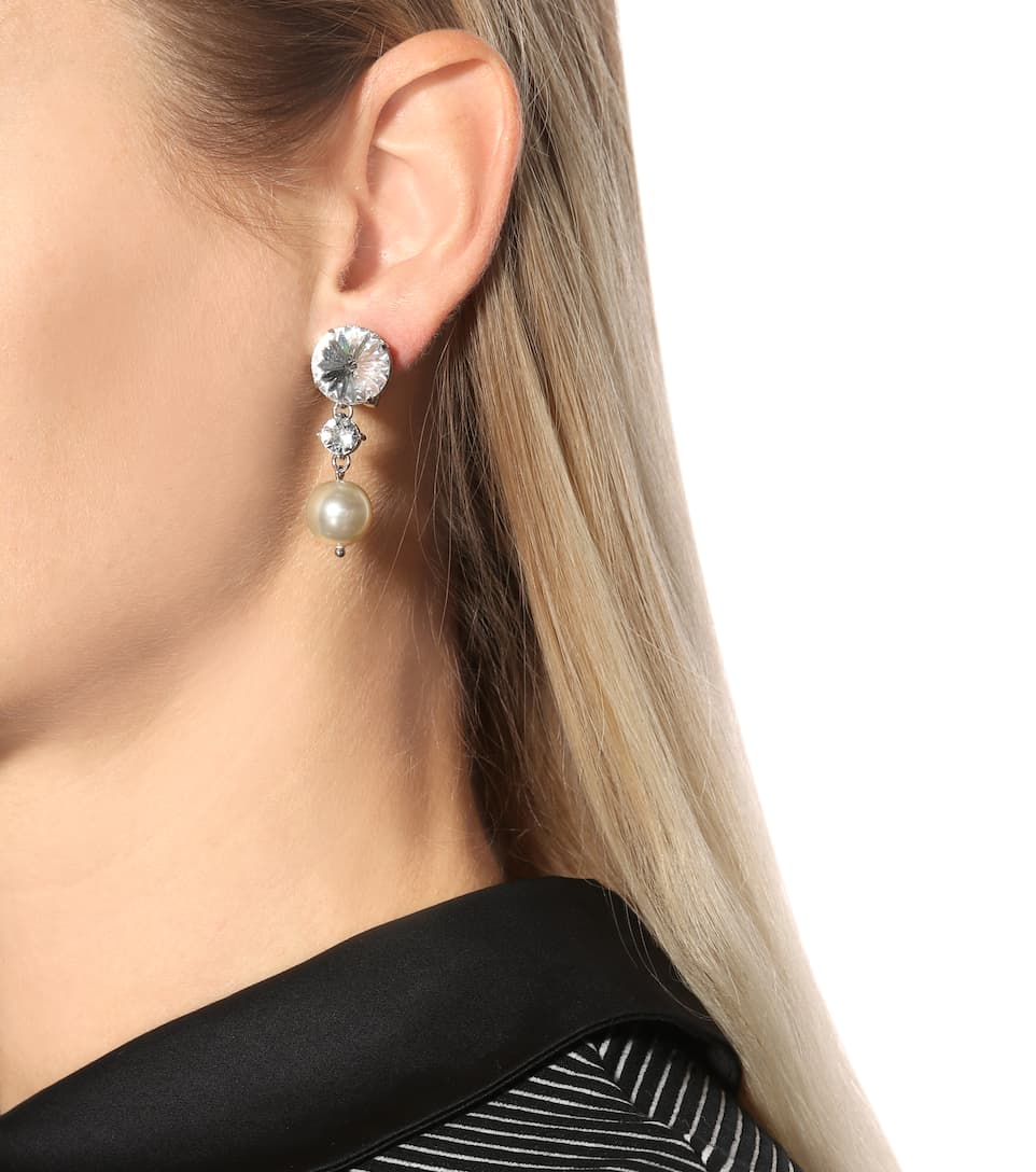 Mytheresa Artnbsp;p00292885 FantaisieMiu com Perles À Clip D'oreilles N° Cristaux Boucles Et bf6Ygv7y