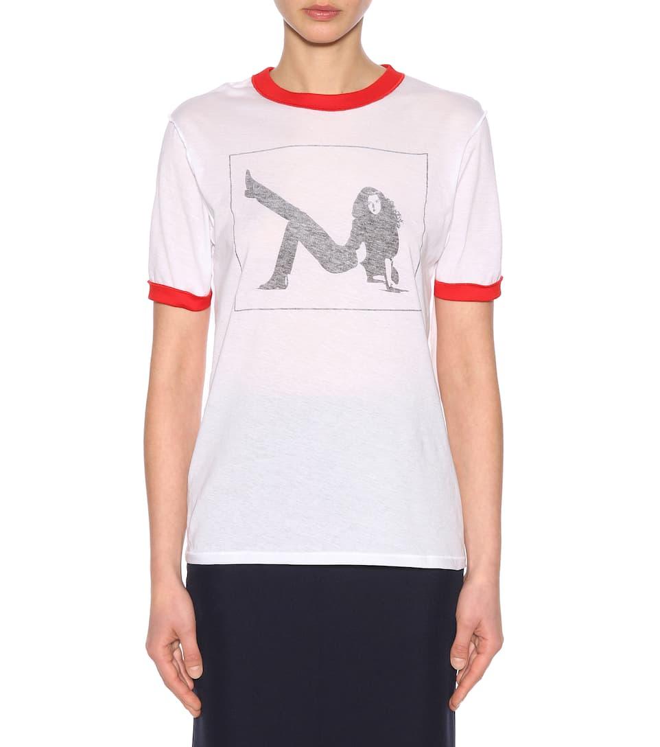 Calvin Klein 205W39NYC Bedrucktes T-Shirt aus Baumwolle Spielraum Niedrigsten Preis Footlocker Zum Verkauf 6egnpqls