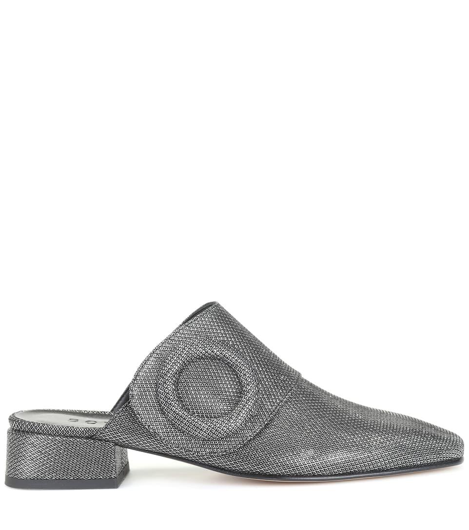 Boyy Slippers aus Leder