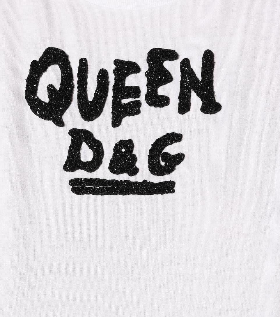 Dolce & Gabbana Printed T-shirt Made Of Cotton