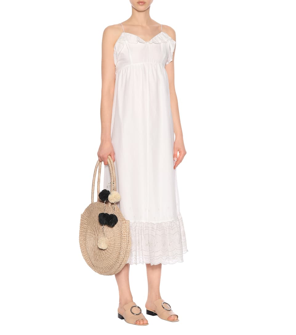 Athena Procopiou - Robe longue en coton Sunday Morning