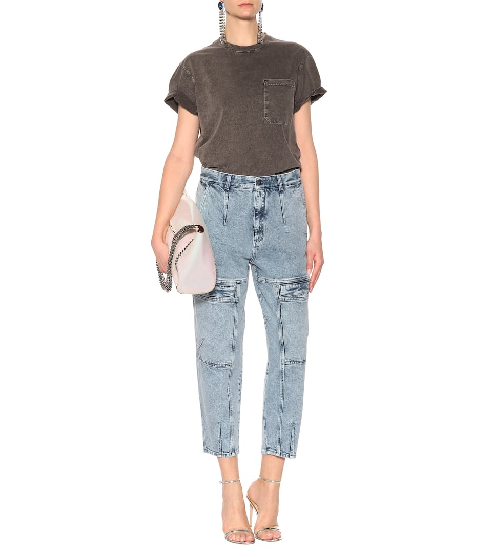 Stella McCartney Jeans Leane aus Stretch-Baumwolle