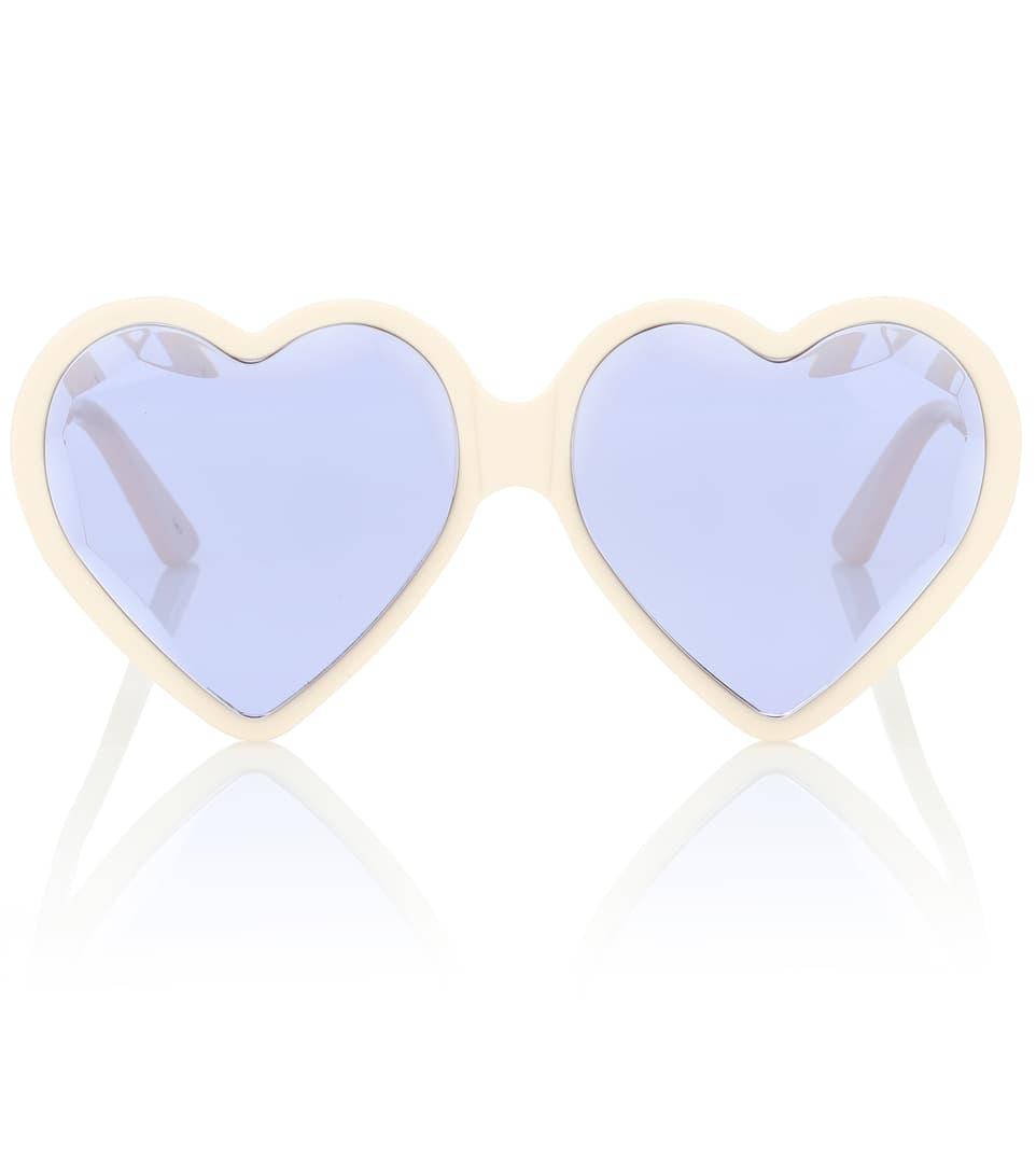 Herzförmige Sonnenbrille   Gucci - mytheresa