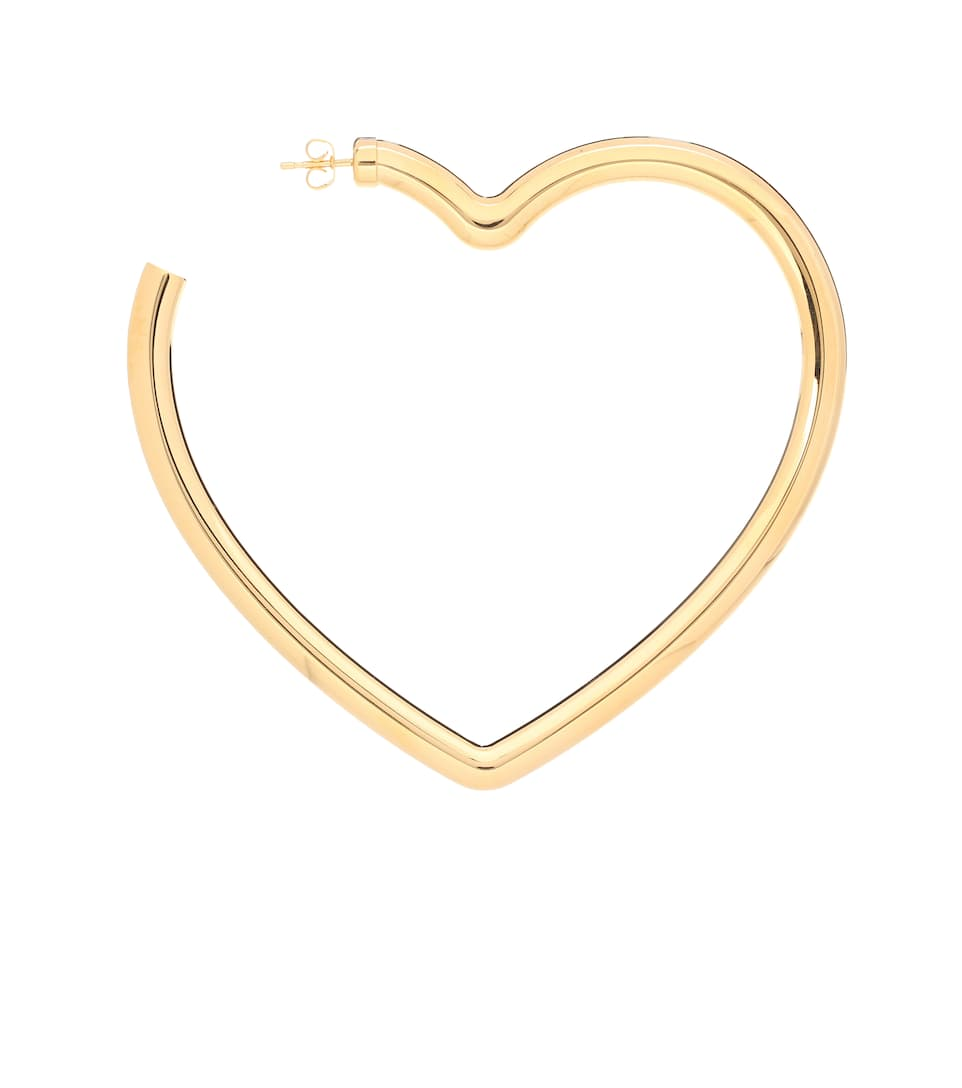 Heart-shaped single earring Balenciaga
