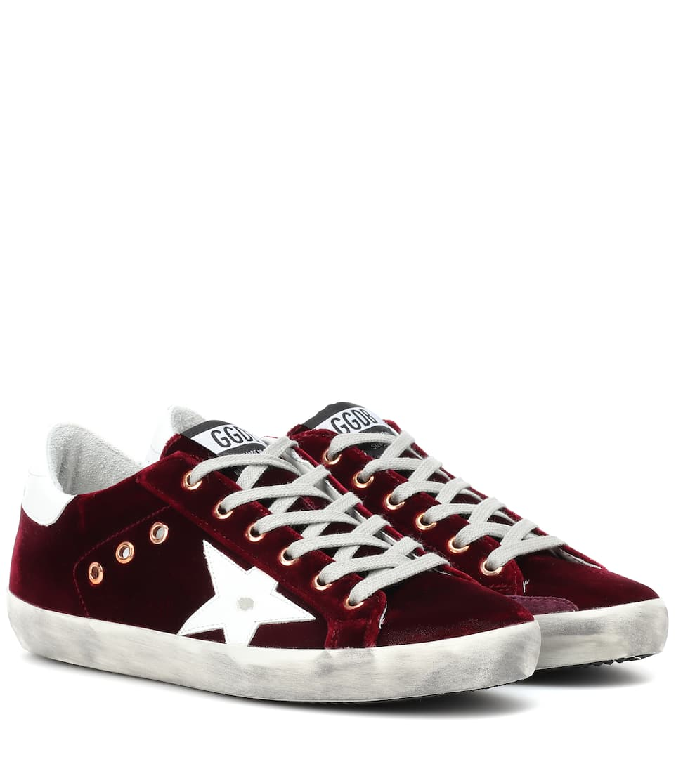 Superstar Velvet Sneakers by Golden Goose Deluxe Brand