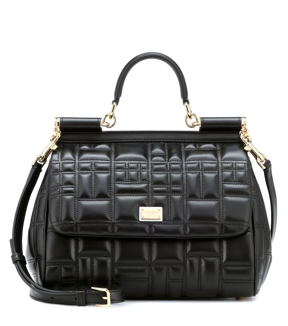 Sicily Medium Quilted Leather Shoulder Bag Dolce Gabbana Mytheresa