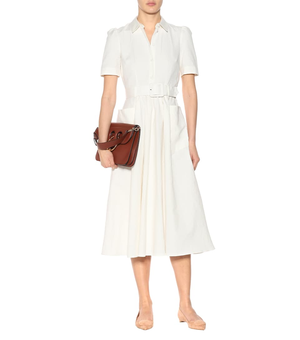 Co Midi Dress In Cotton And Linen