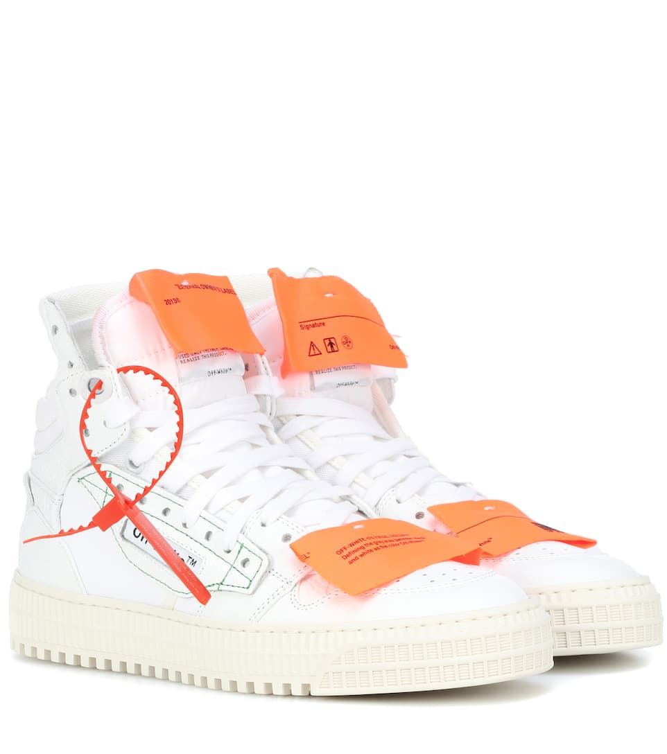 Off-White - Sneakers Off-Court 1 in pelle  2e2dc458ae7