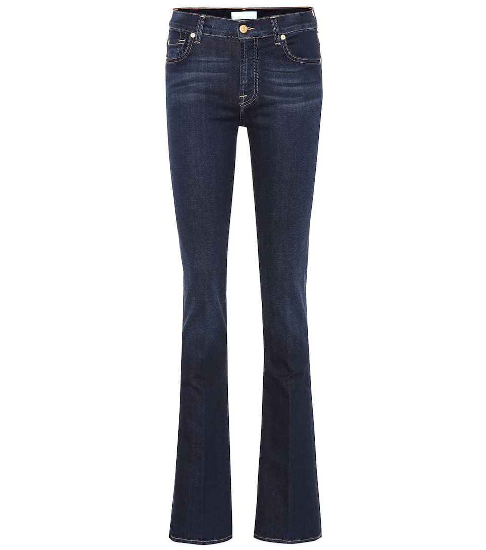 jeans bootcut aus stretch baumwolle 7 for all mankind. Black Bedroom Furniture Sets. Home Design Ideas