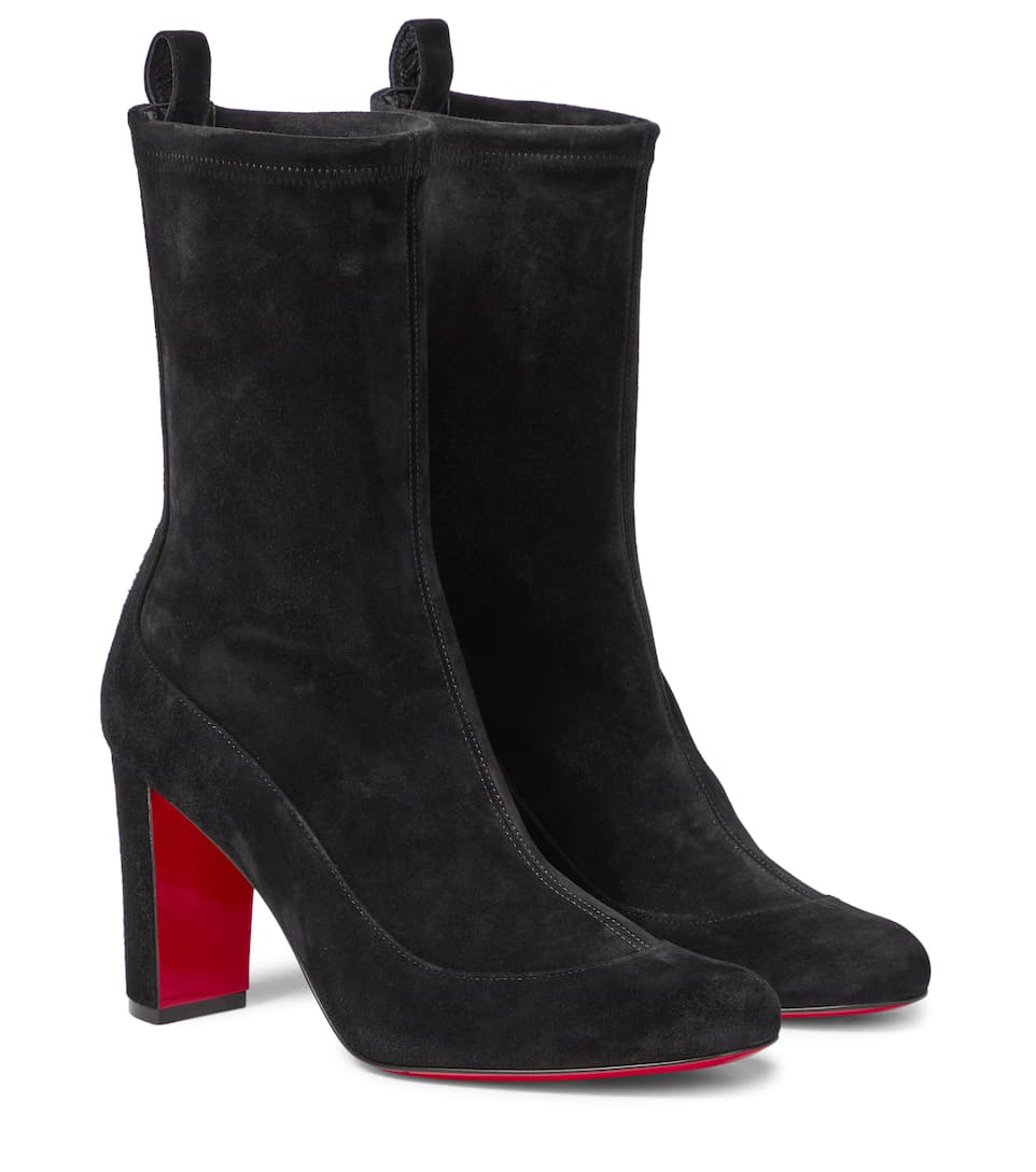 Gena 85 Suede Ankle Boots | Christian