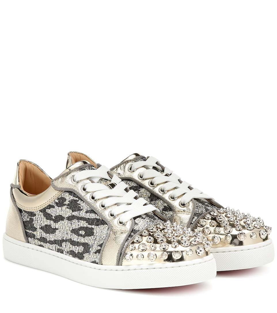 Vieira Spikes embellished sneakers