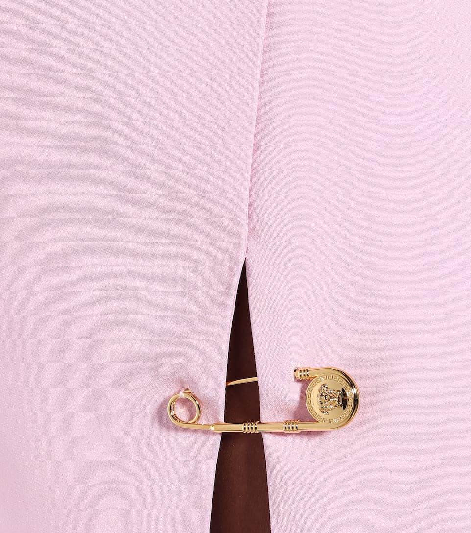 Versace - Exclusive to Mytheresa – Stretch-crêpe miniskirt