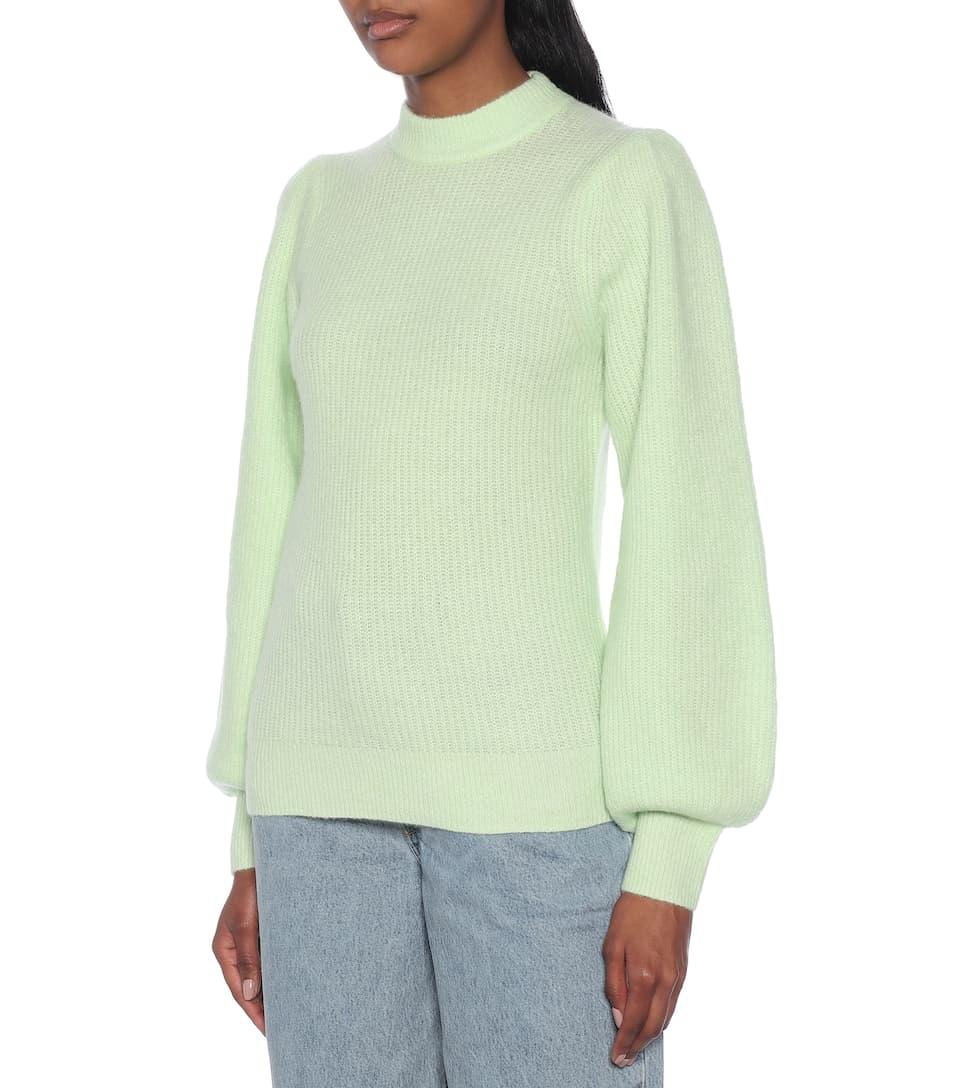 스트레치 울 스웨터 | Ganni - Mytheresa