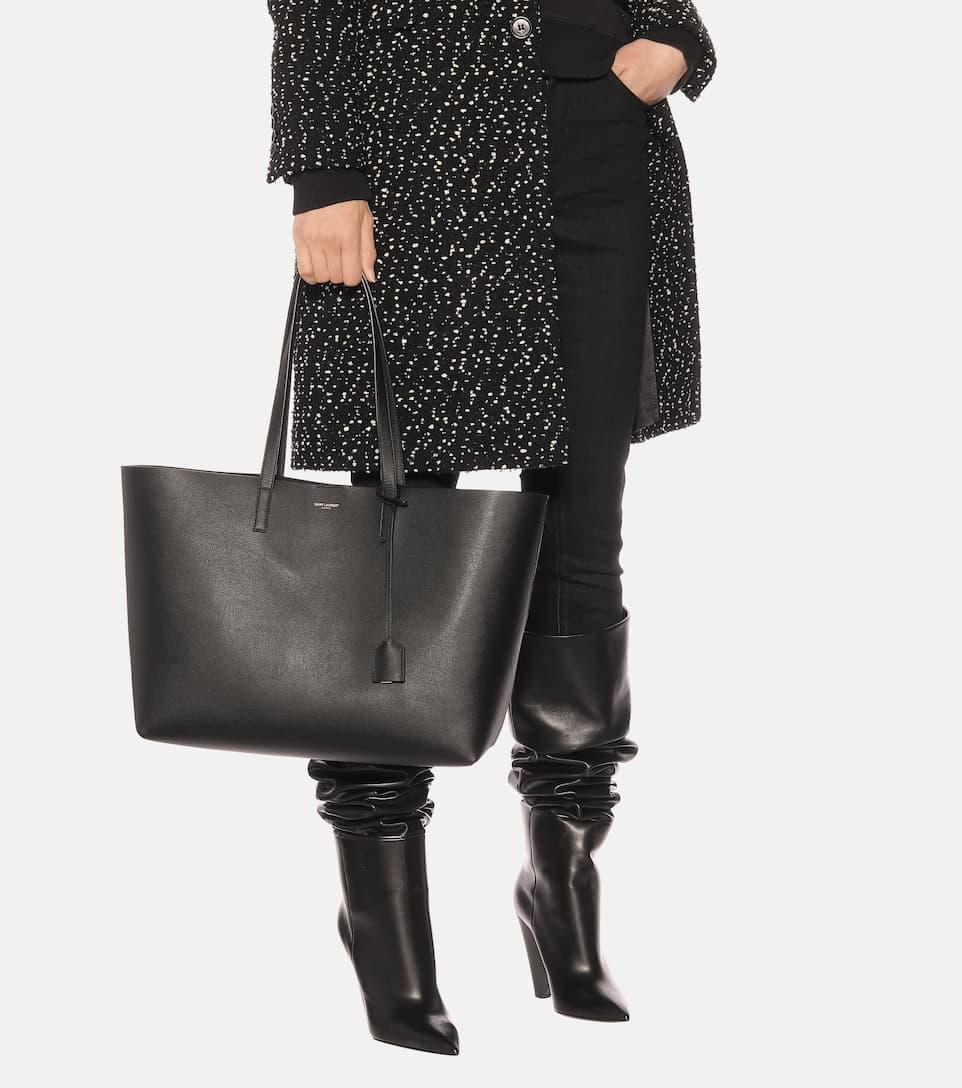 Saint Laurent Shopper aus Leder