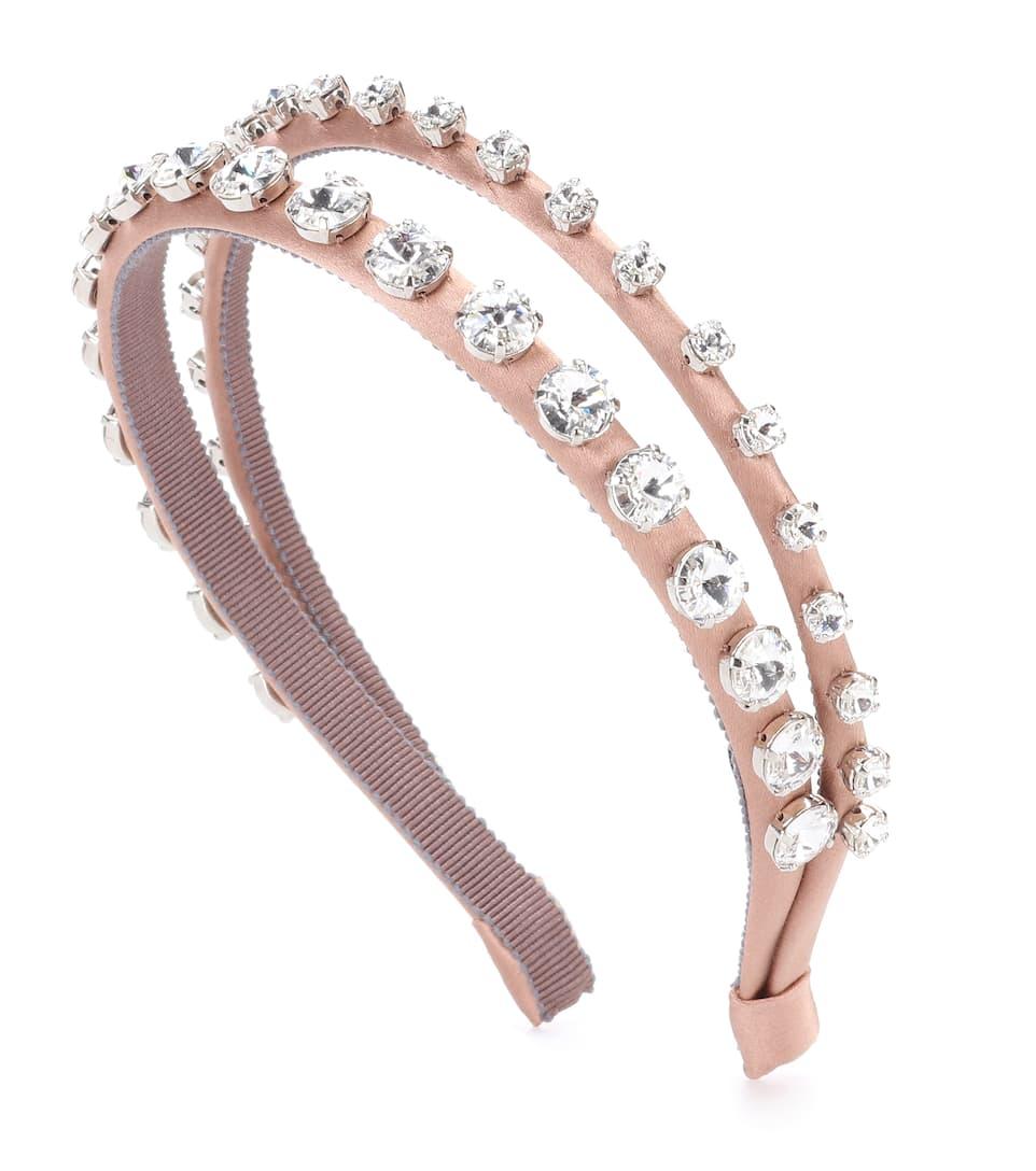 Miu Miu Crystal-embellished headband RHN2xfqYn3