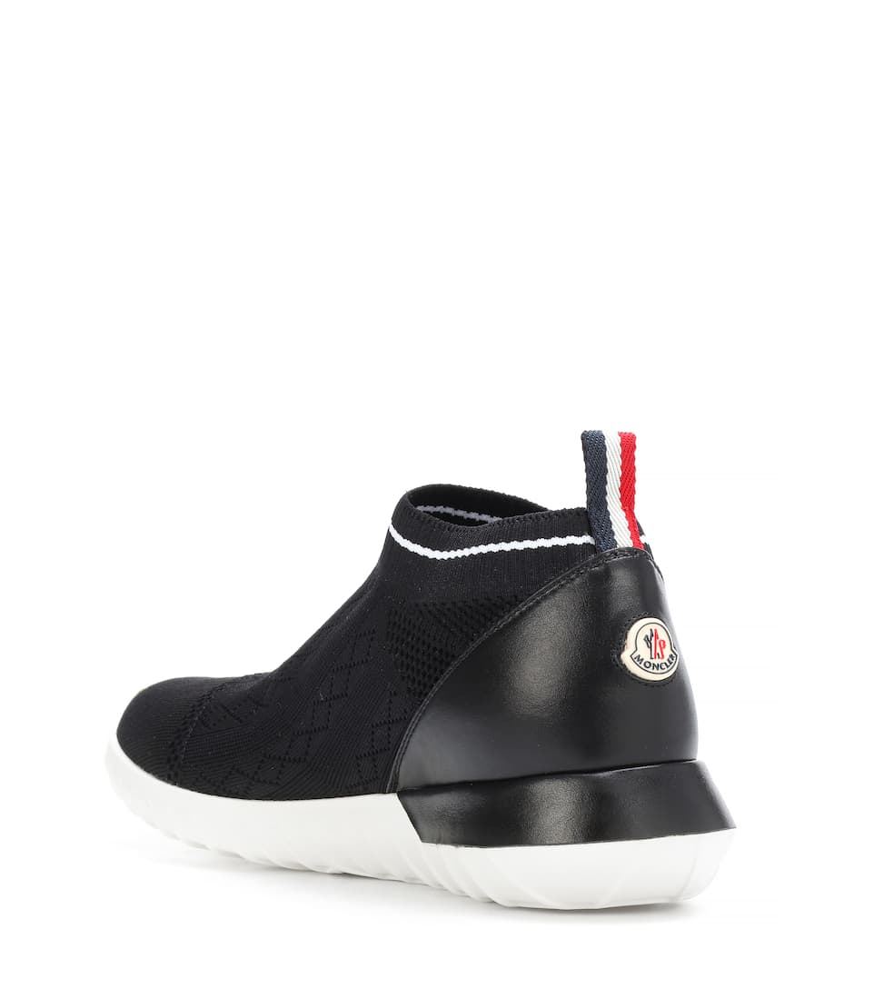 Moncler Sneakers Giroflee aus Stretch-Strick