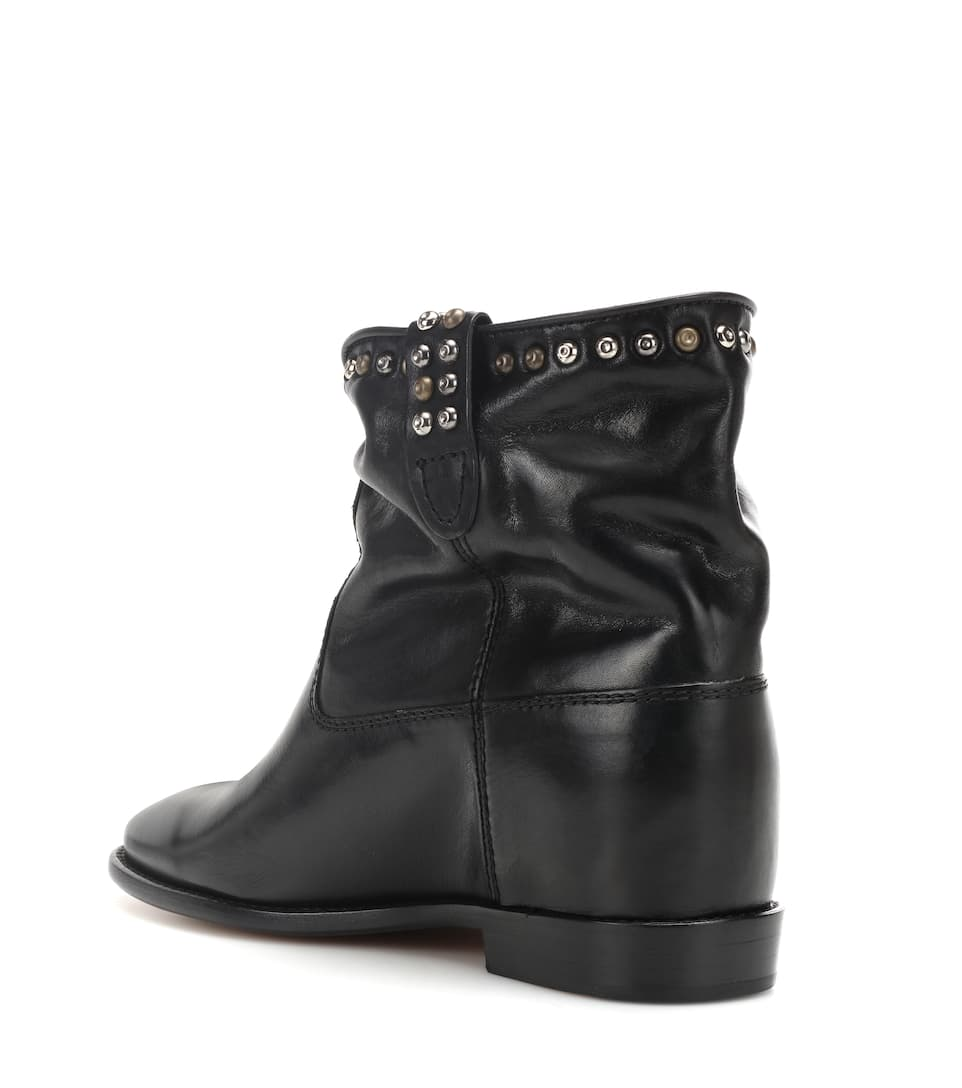 Exclusivité mytheresa.com - Bottines en daim CrisiIsabel Marant ZzY0st