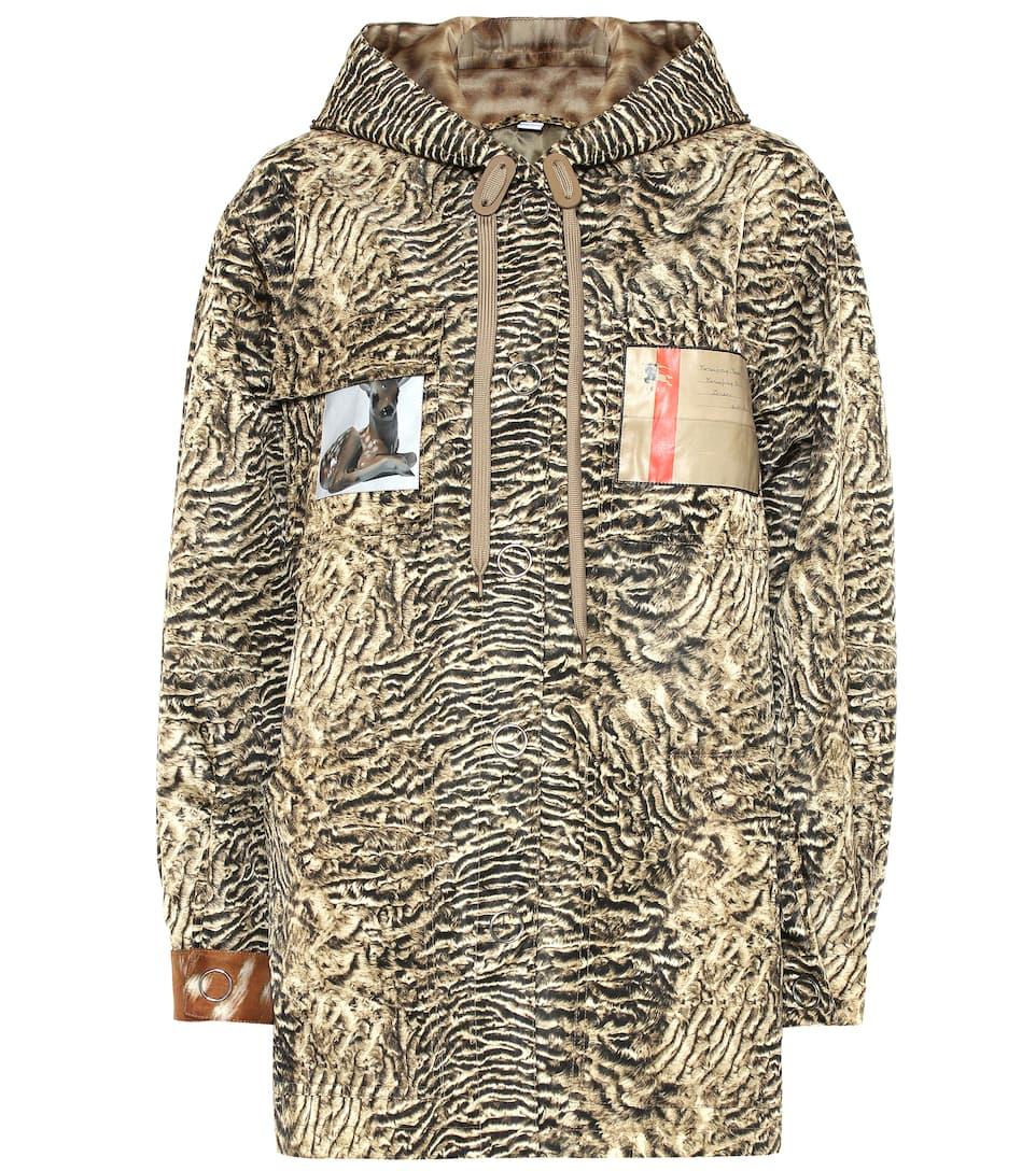Burberry - Printed nylon jacket  ffe9c6ace
